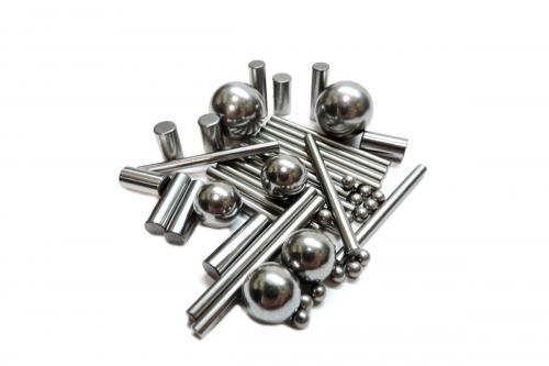 Bolas y Rodillos de Acero  Serie Al Cromo Carbono Acero inoxidable Plastico