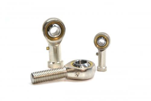Rodamientos Rotulas de acero con vastago